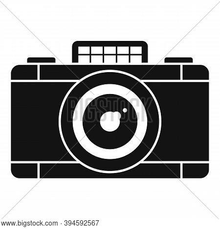 Safari Hunting Camera Icon. Simple Illustration Of Safari Hunting Camera Vector Icon For Web Design