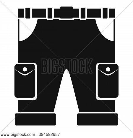 Safari Hunting Shorts Icon. Simple Illustration Of Safari Hunting Shorts Vector Icon For Web Design