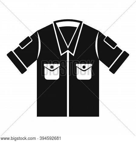 Safari Shirt Icon. Simple Illustration Of Safari Shirt Vector Icon For Web Design Isolated On White