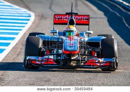 Team Mclaren F1, Lewis Hamilton, 2012