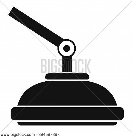 Operation Surgical Light Icon. Simple Illustration Of Operation Surgical Light Vector Icon For Web D