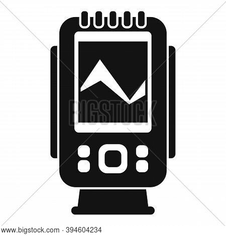 Digital Echo Sounder Icon. Simple Illustration Of Digital Echo Sounder Vector Icon For Web Design Is