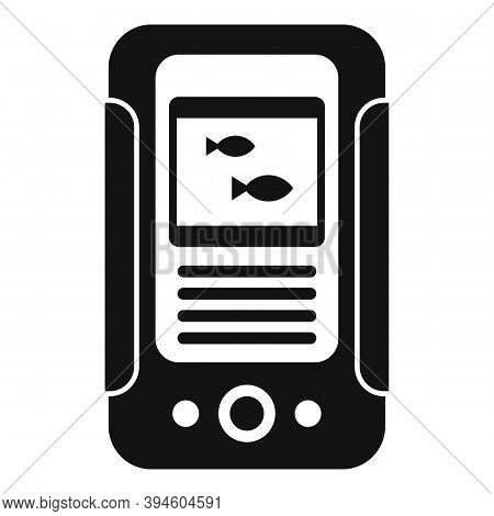 Water Echo Sounder Icon. Simple Illustration Of Water Echo Sounder Vector Icon For Web Design Isolat