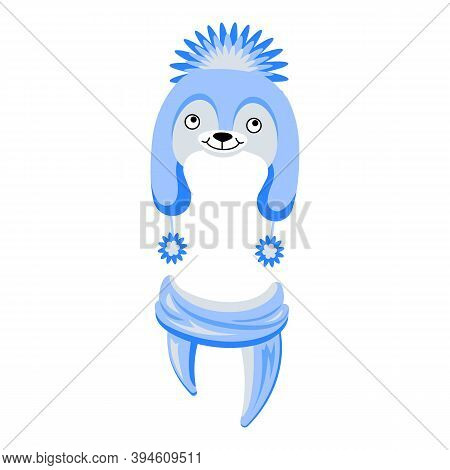 Cute Hat Icon. Cartoon Of Cute Hat Vector Icon For Web Design Isolated On White Background
