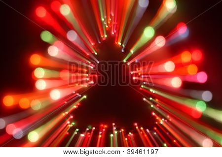 christmas tree light zoom