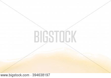 Cosmetic Cream Gel Texture Isolated On White Background. Skin Care Concept. - Image