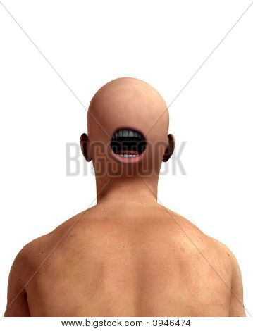 Creepy Back Of Head