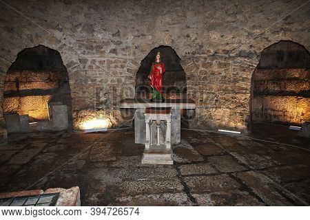 Split, Croatia - 02 May 2018: Cathedral Of Saint Domnius In Split City On Adriatic Sea, Croatia