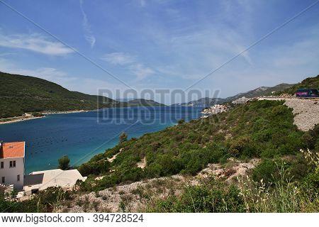 Adriatic Sea, Croatia - 02 May 2018: The Beautiful Coast Of Adriatic Sea, Croatia