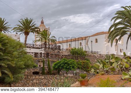 Betancuria, Fuerteventura, Spain : 2020 October 6 :  Typical Canarian House In Bentancuria On The Is