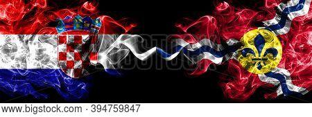 Croatia, Croatian Vs United States Of America, America, Us, Usa, American, Saint Louis, Missouri Smo