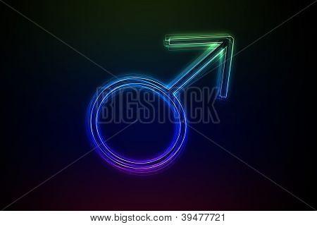 Neon Male