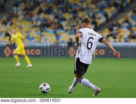 Kyiv, Ukraine - October 10, 2020: Defender Joshua Kimmich Of Germany In Action During The Uefa Natio