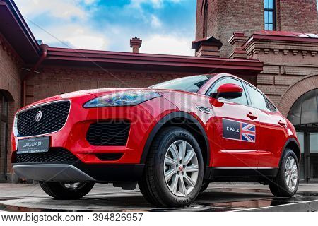 St. Petersburg, Russia, February - 2020: Novelty, Suv From The British Premium Automaker At A Street