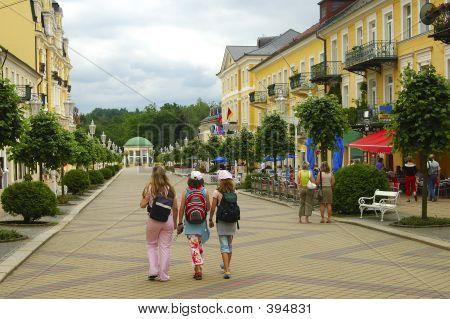 Pedestrian Area