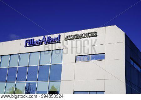 Bordeaux , Aquitaine / France - 11 08 2020 : Filhet-allard Sign And Logo Of Headquarter Insurance Fr
