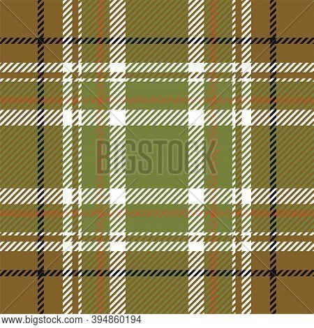 Plaid Pattern Seamless. Check Fabric Texture. Stripe Square Background. Vector Textile Tartan Design