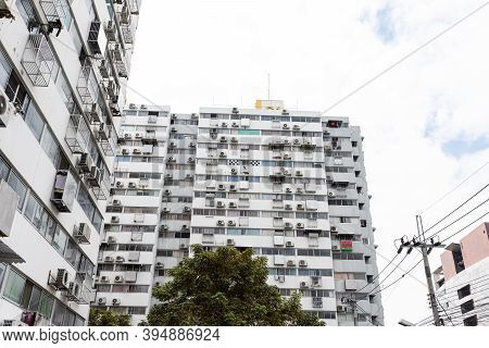 Nonthaburi, Thailand-november 7, 2020: The Residential District Of Condominium Muang Thong Thani On