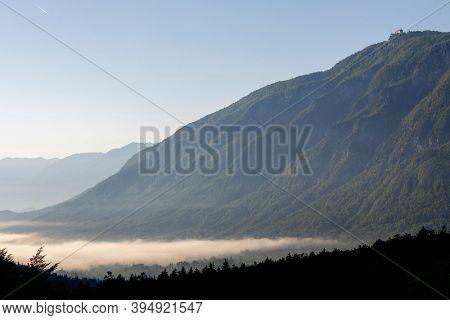 Valley near Bohinj lake in Triglav national park, Slovenia