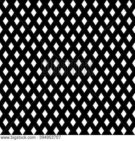 Diamonds. Rhombuses Background. Lozenges Wallpaper. Polygons Backdrop. Mosaic Motif. Tiles Illustrat