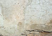 Vintage or grungy white background of natural cement or stone old texture as a retro pattern wall.  It is a concept, conceptual or metaphor wall banner, grunge, material, aged, rust or construction. poster