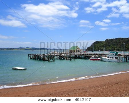 Russell Wharf, Bay of Islands, Neuseeland