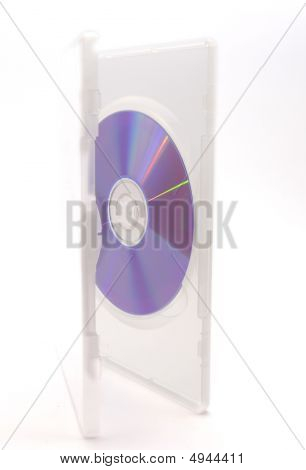poster of HDV or blue ray disc in white box