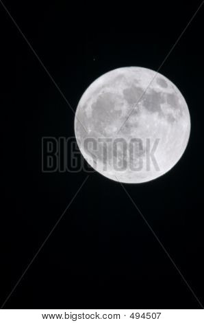 Full Moon With Star
