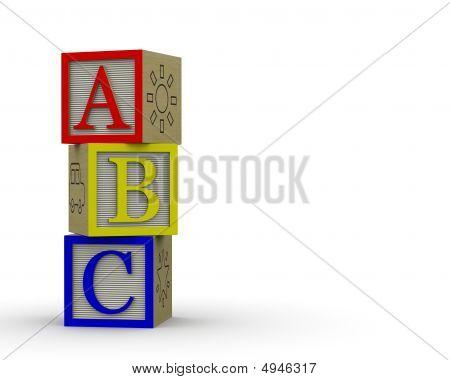 Abc Blocks Overlapping
