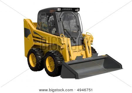 New Yellow Minitractor