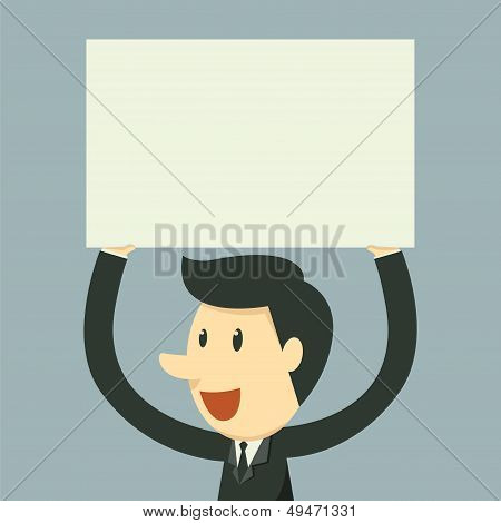 Holding Paper