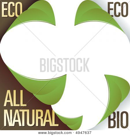 Eco And All Natural Label Stickers