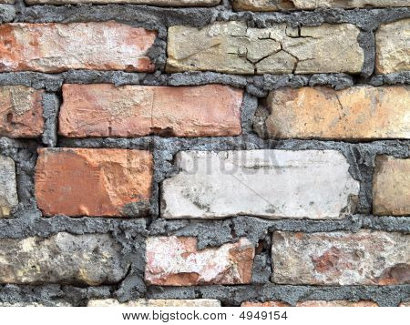 Detailed Brick Wall