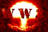 World war 3 nuclear background a sensitive world issue useful for various icon banner background global economy conceptual design. poster