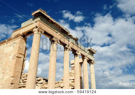 Erechteion, City Of Athens, Greece