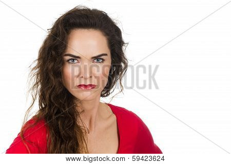 Annoyed Angry Woman