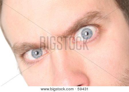 Evil Blue Eye #2 - Super Detail