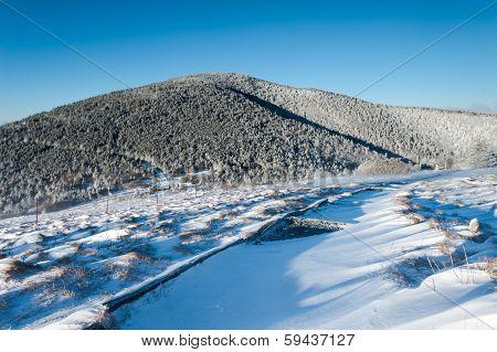 Appalachian Trail Winter Scenic Roan Highlands