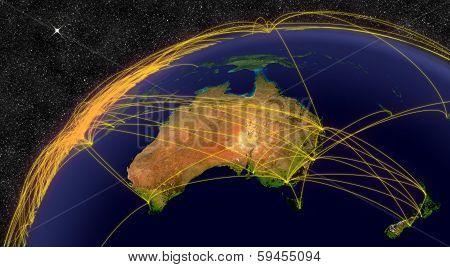 Air Travel In Australia