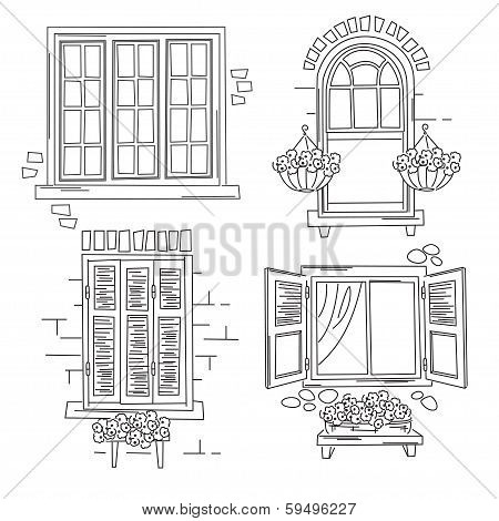 Retro windows