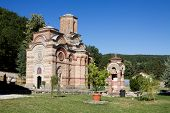 Kalenic monastery is an important Serb Orthodox monastery in central Serbia. It was built in the early 15th century. The church is dedicated to the Presentation of the Virgin Mary. poster