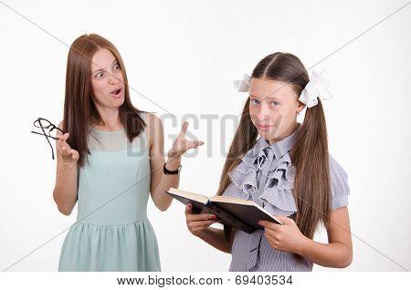 Teacher Yelling At Pupil