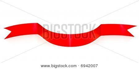 Bent Red Ribbon