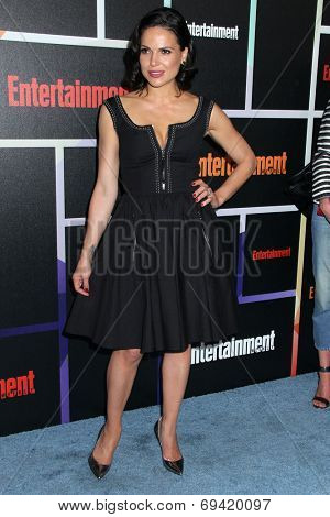 SAN DIEGO - JUL 26:  Lana Parrilla at the Emtertainment Weekly Party - Comic-Con International 2014 at the Float at Hard Rock Hotel San Diego on July 26, 2014 in San Diego, CA