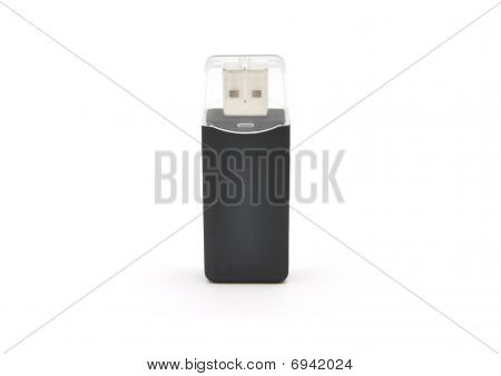 Detailed But Simple Image Of Usb Card Reader