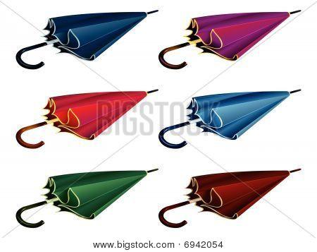 klassische Regenschirm