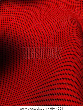 Distorted spot pattern for backgrounds or fills poster