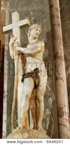 Michalangelo - Christ statue in Santa Maria sopra Minerva church - Rome