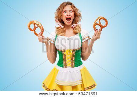 Indignant Waitress.