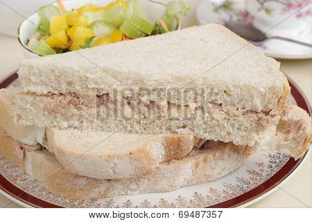 Tuna Mayonaise Sandwich